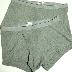 Lot of Two Gap Boxers Gray Size Large
